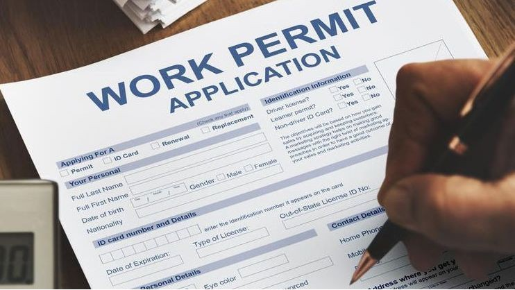 Foreigners' Application for Work-Type Residence Permit