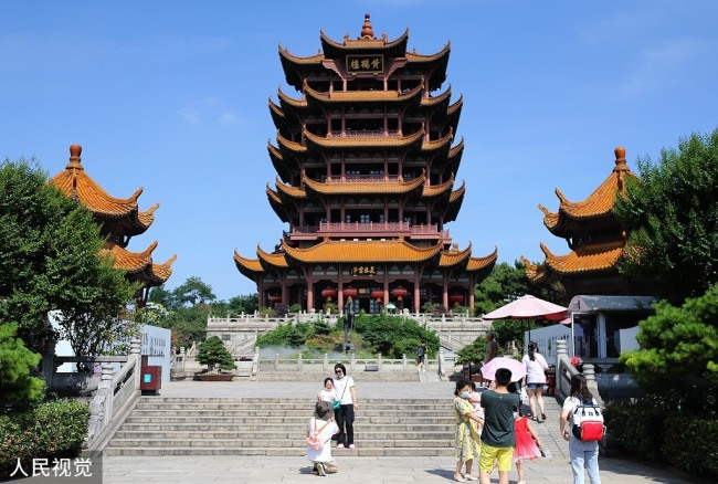 Learn Chinese | Wuhan's Huanghelou fully reopens to tourists