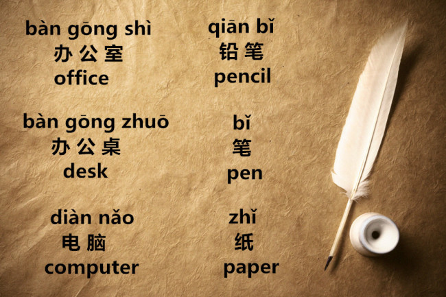 Learn Chinese |In the Office  在办公室(1)